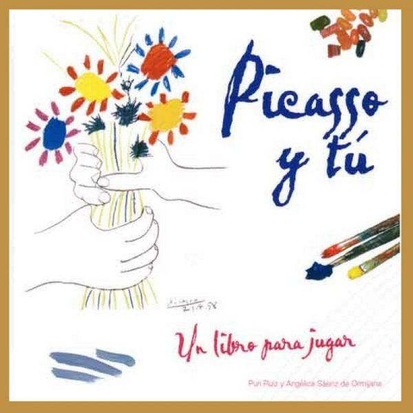 Creación del libro de arte infantil 'Picaso y tú'-min