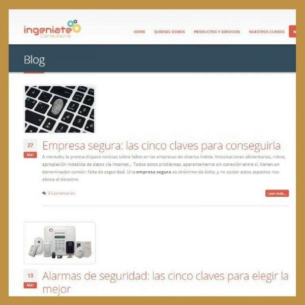Blog corporativo de Ingéniate Consultoría